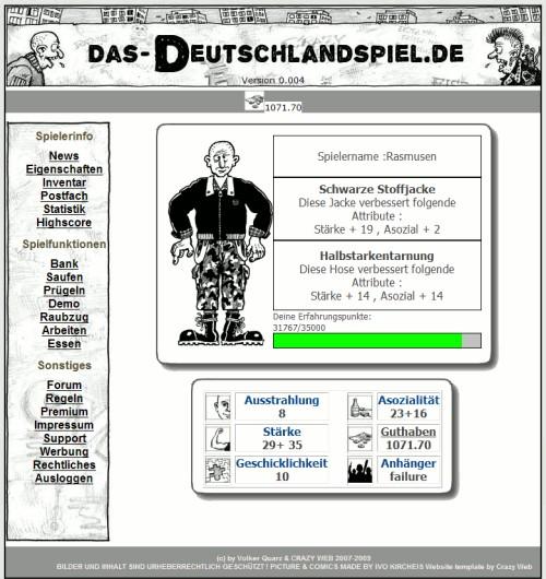Das Deutschlandspiel