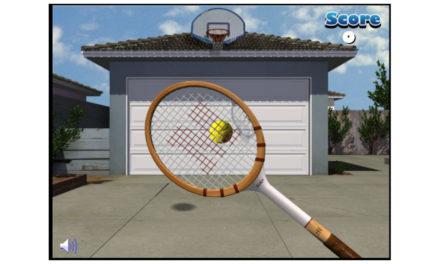 Garagentor Tennis