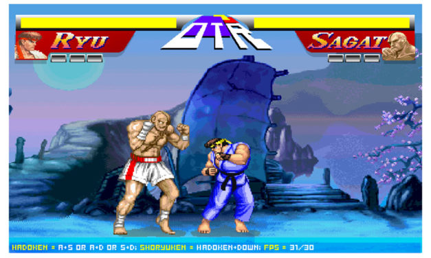 Streetfighter 2 – Ryu vs. Sagat
