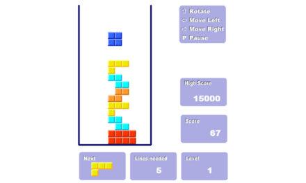 2D Tetris