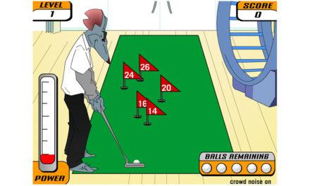 Gary the Rat Golfspiel