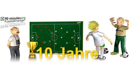 90-minutes Fußballmanager Browsergame