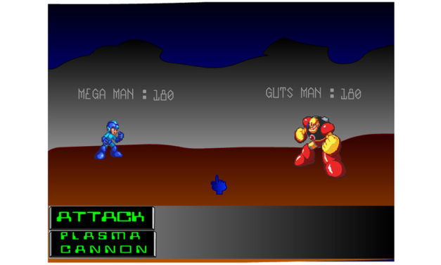 Mega Man RPG – Flashgame