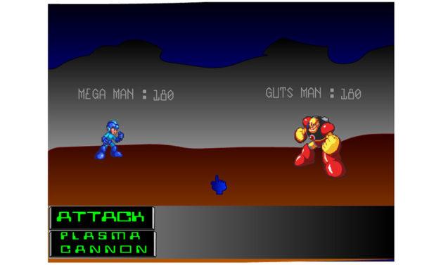 Mega Man RPG – Flashgame