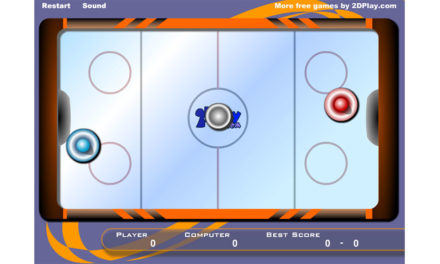 2d Air Hockey- Flashgame