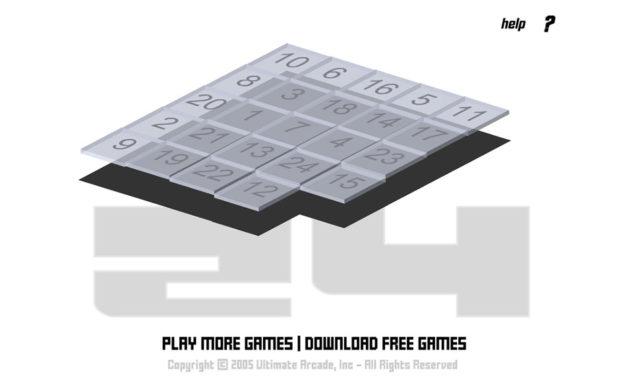 24 – Flashgame