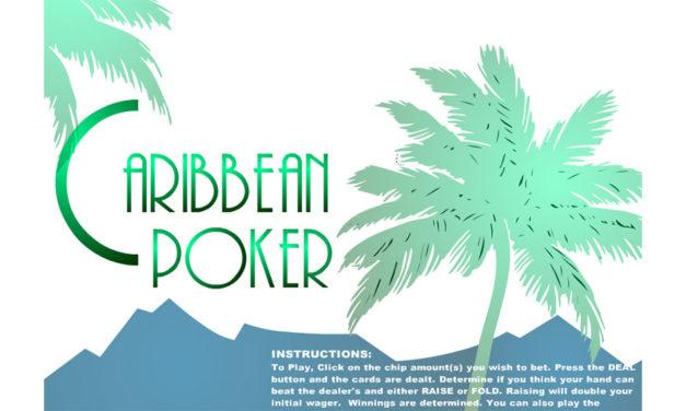 Caribbean Poker – Flashgame