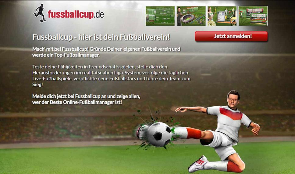 Fussballcup: Kicken wie die Profis