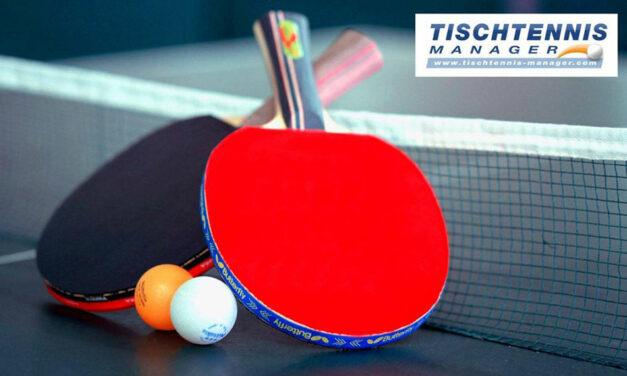 An die Schläger – fertig – los! Tischtennis – Manager